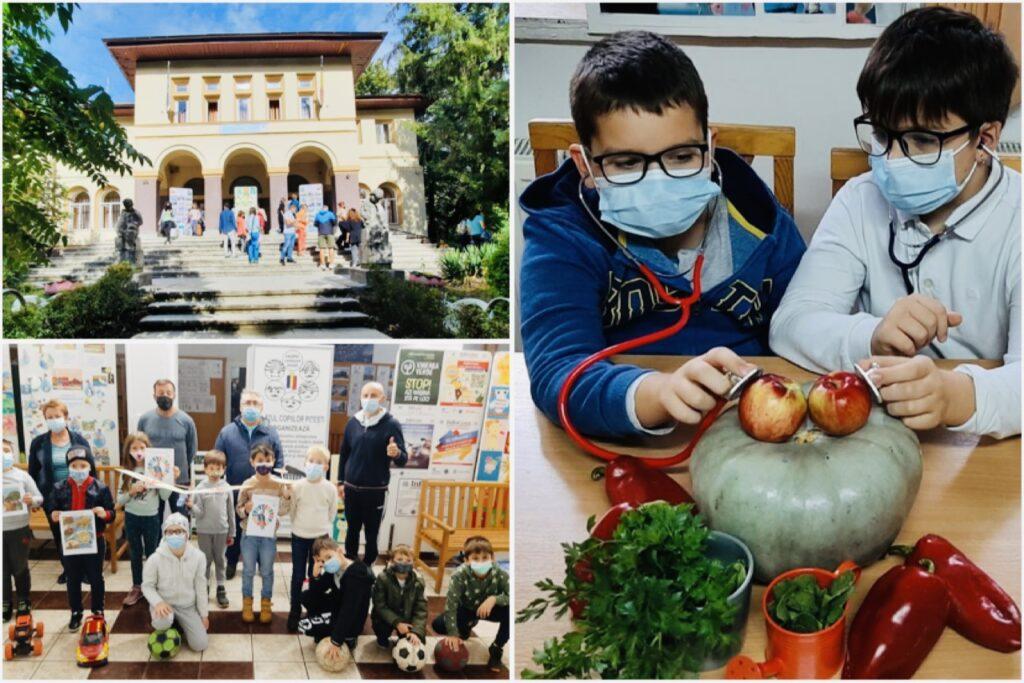 La Palatul Copiilor din Pitești, cursuri despre hrana bio