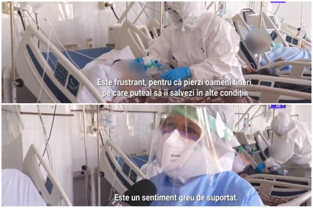 Intubat în ziua când soția a născut, un bărbat a murit la SJU Pitești