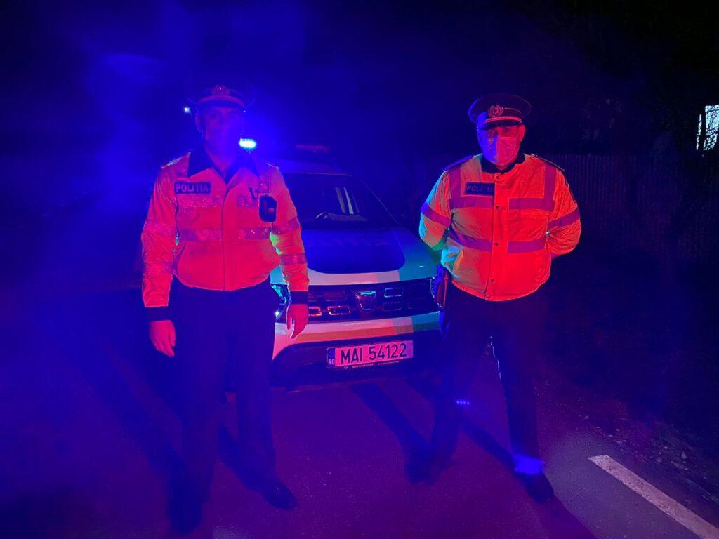 Tânăr băut la volan, a încercat să fugă de polițiști în Pitești