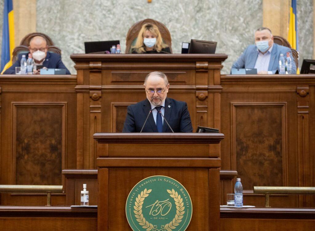 Senatorul Bica solicită bani pentru electrificarea căii ferate Piteşti-Bucureşti